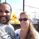 The Duck visits San Pedro