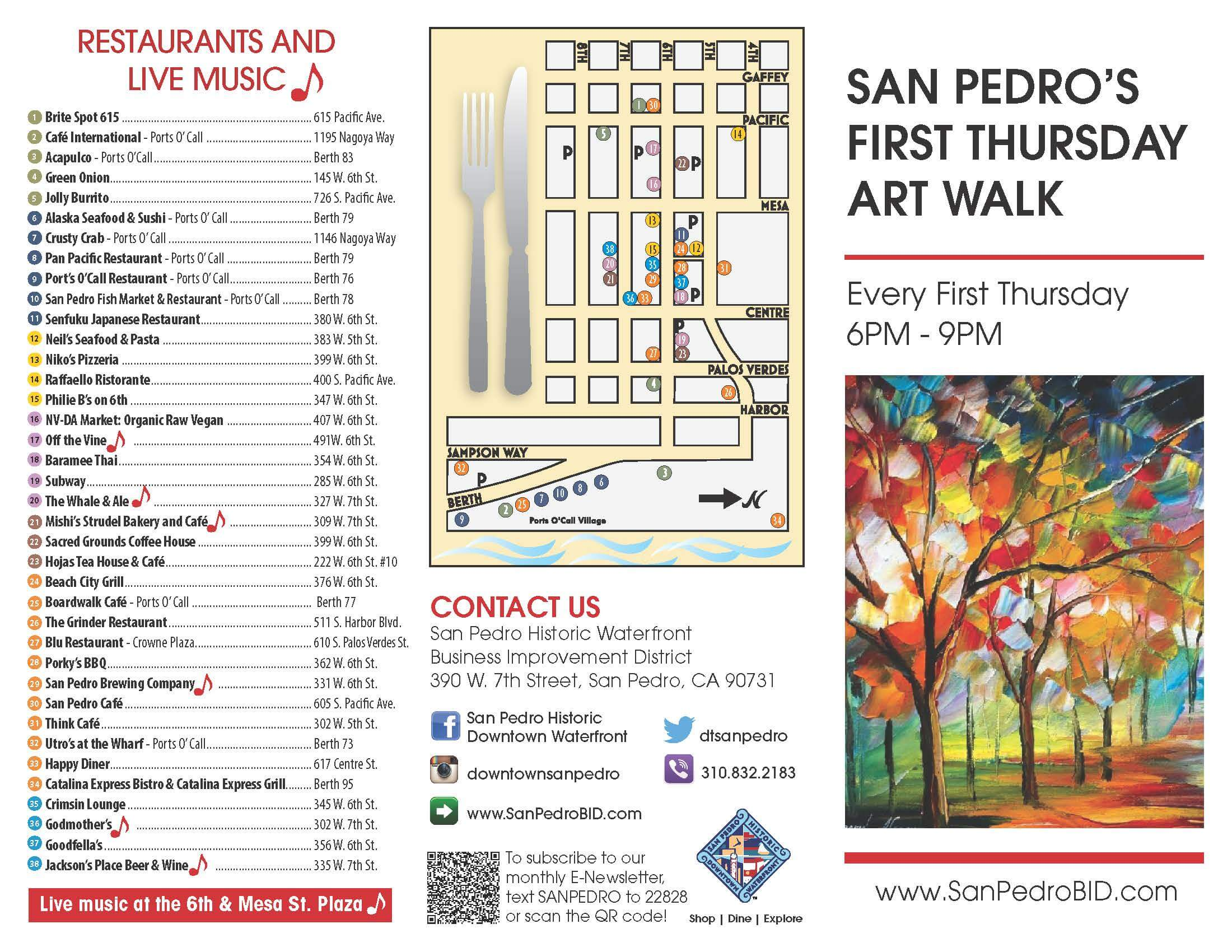 First Thursday Downtown San Pedro Art Walk