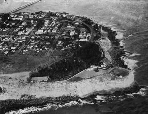 (1934) - Aerial view of Pt. Fermin. (photo courtesy Water and Power Associates)