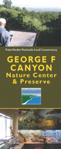 First Saturday Hike @ George F Canyon Nature Center | Rancho Palos Verdes | California | United States