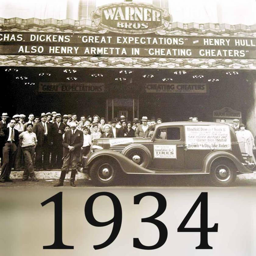 1934 Screening of Great Expectations at Warner Grand Theatre