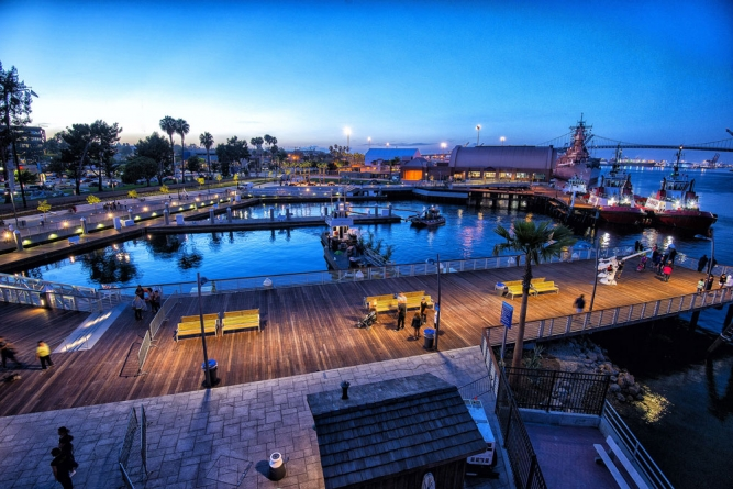 San Pedro Downtown Harbor and Town Square