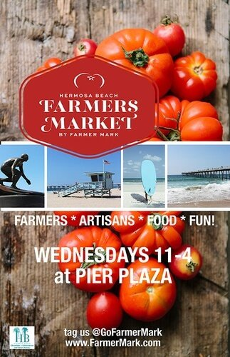 HB Chamber Farmers Market on Pier Plaza