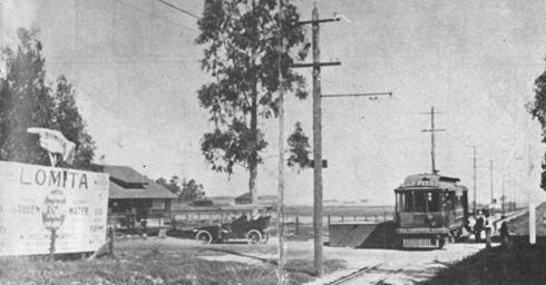 San Pedro Trolley Line, Early 1900s