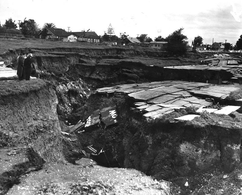 Sunken City 1929 (Photo courtesy of the Los Angeles Public Library)