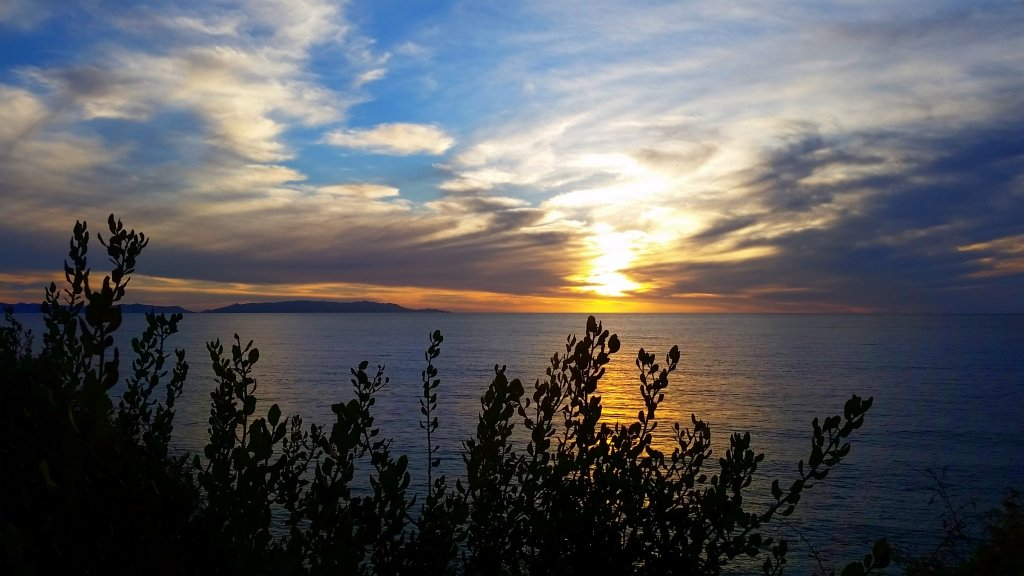Catalina Island Sunset from Point Fermin