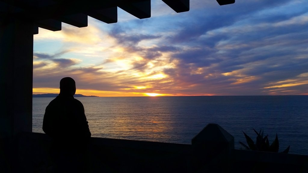 Point Fermin with Lee Sunset
