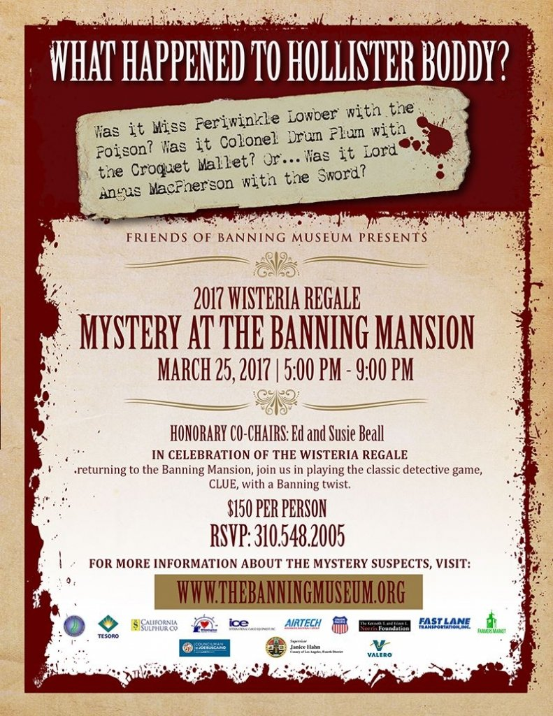 Mystery at the Banning Mansion @ Banning Mansion   Los Angeles   California   United States