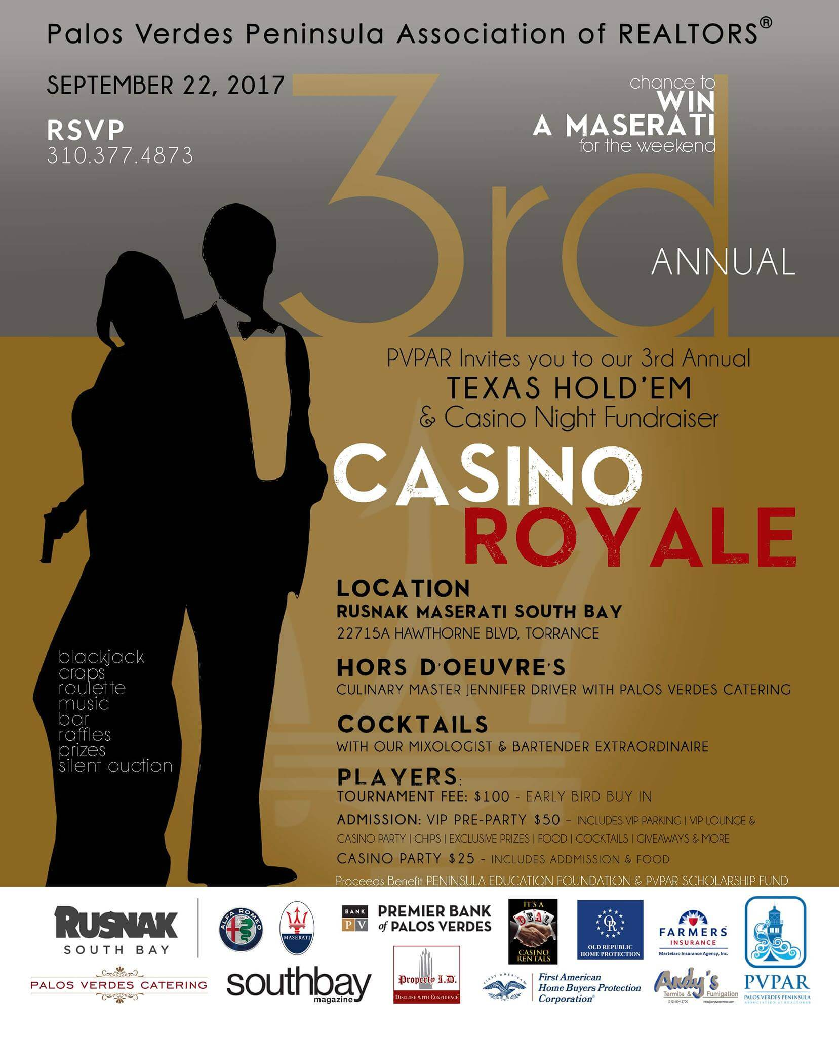 Texas Hold'em & Casino Night Fundraiser | Best of the South Bay