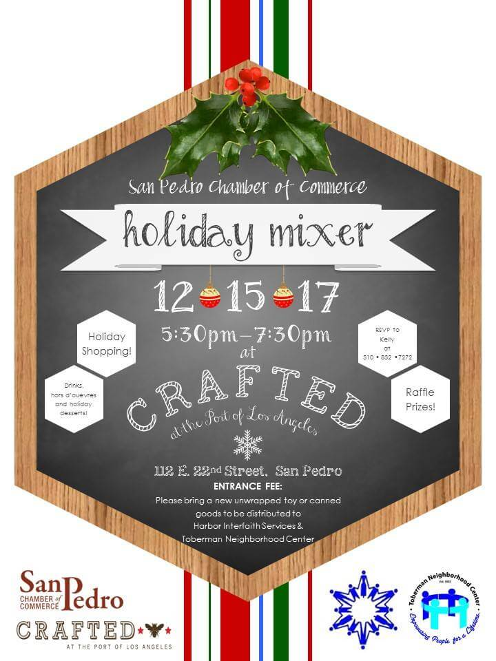 San Pedro Chamber Holiday Mixer