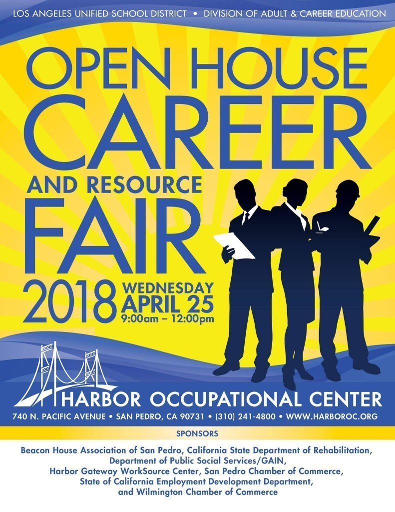 Career & Resource Fair @ Harbor Occupational Center | Los Angeles | California | United States