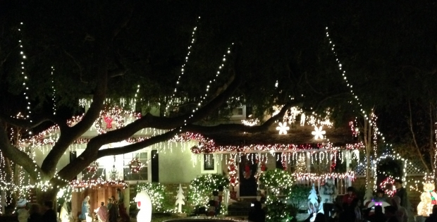 Candy Cane Lane in Torrance